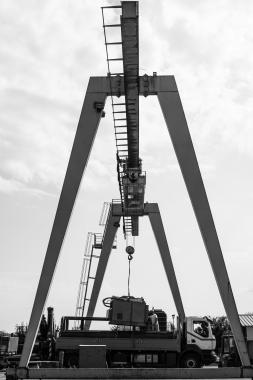 portique roulant-entreprise-forage horizontal