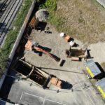 drone-Installation chantier-jamme kleber